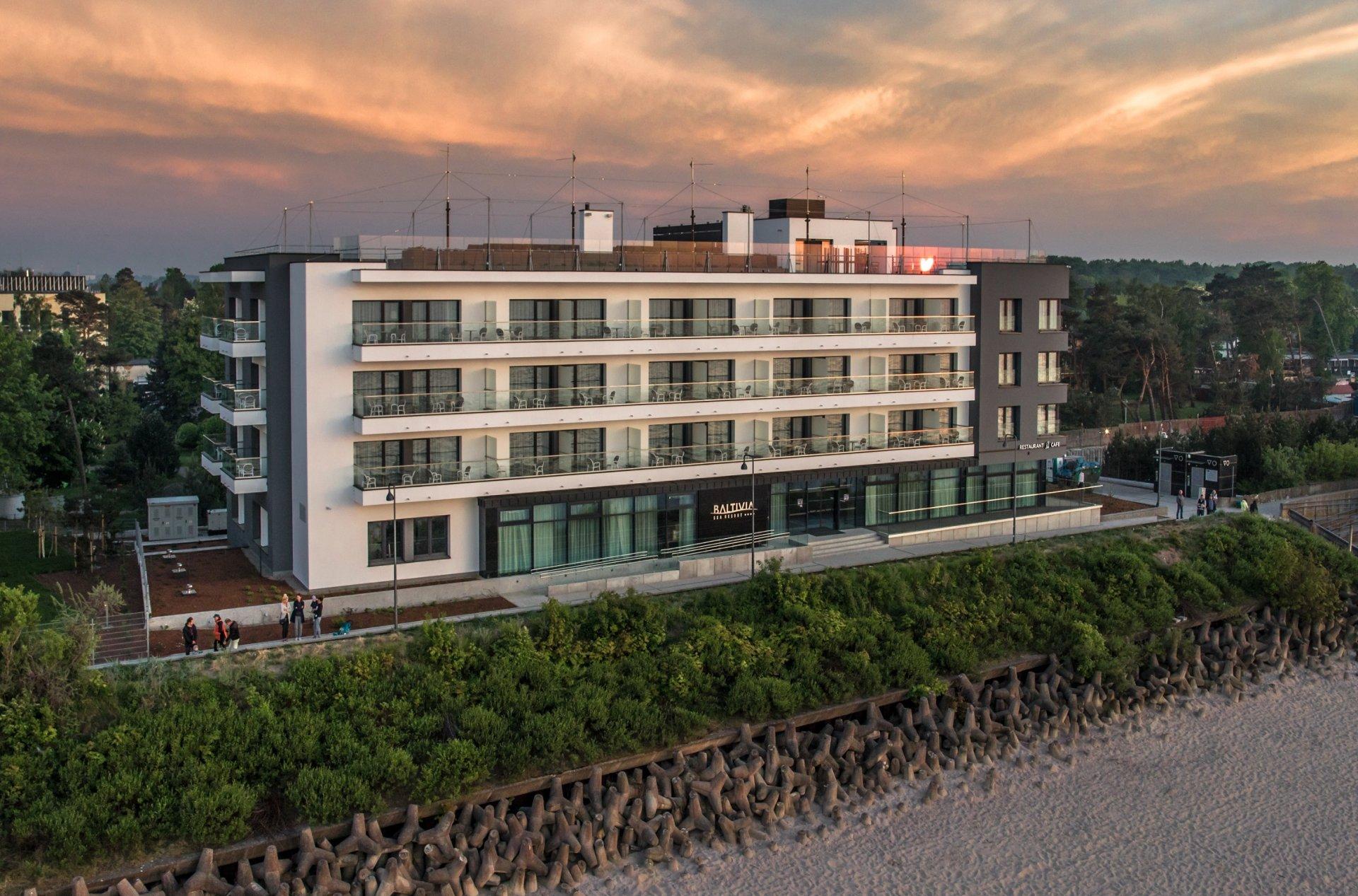 Baltivia Sea Resort**** - Mielno/ Polnische Ostsee