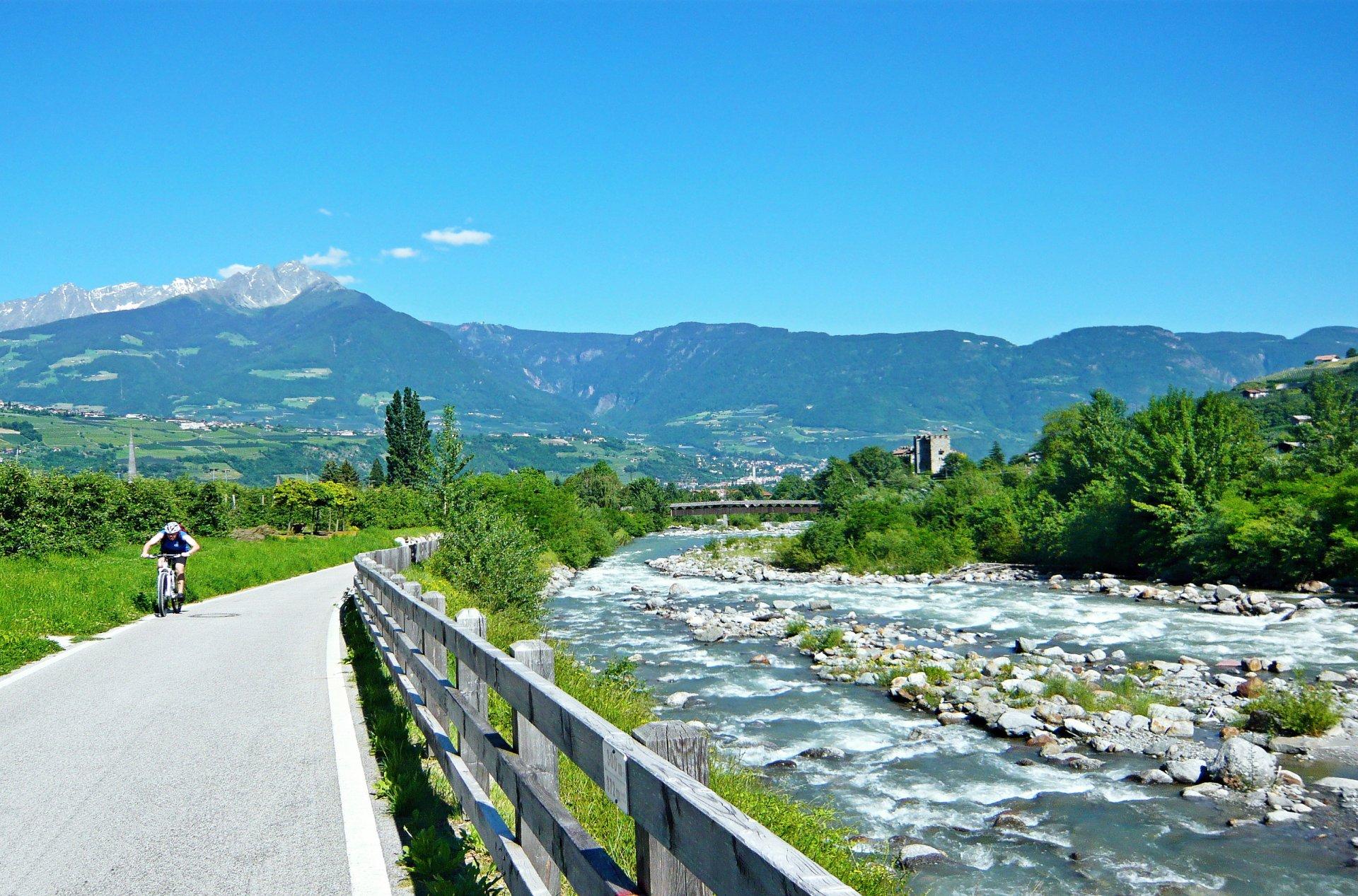Radreise – Vom Vinschgau bis zum Gardasee