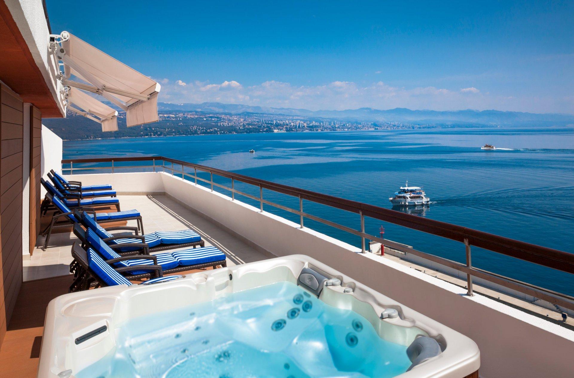 Hotel Admiral**** / Opatija / Kroatien
